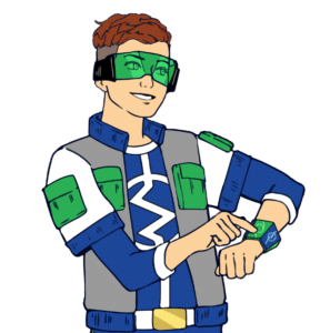 super electric animated tech