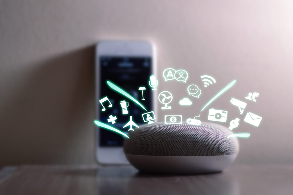 smart home assistant device